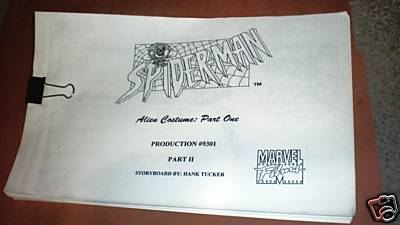 spiderman-storyboard