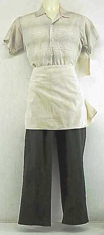 DEUCES WILD: Willie's Waiter Outfit