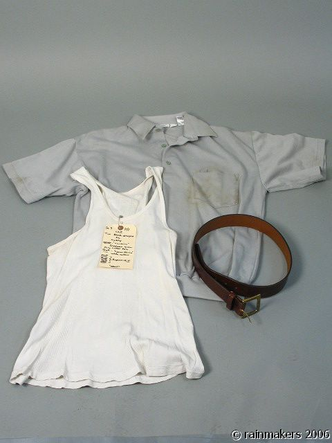 HOOT: Curly (Tim Blake Nelson) Shirt , Top & Belt 1