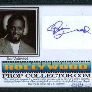 BLAIR UNDERWOOD: Framed 1
