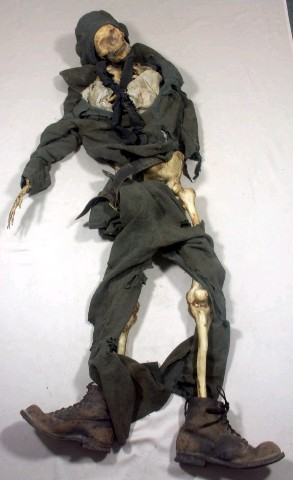 SAHARA: Ironclad Soldier Skeleton