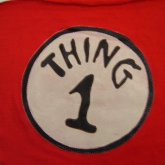 CAT IN THE HAT: THING 1'S SILK SCREENED LOGO   1