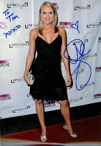 Alana Currys Autographed Photo 1