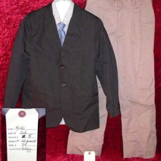 EULOGY: Ted's Screenworn Funeral Wardrobe