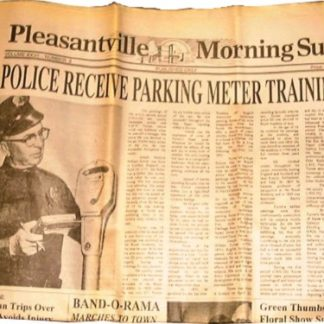 PLEASANTVILLE: Police Recieve Prop Newspaper  1