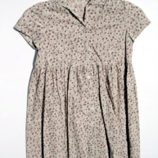 SCARY MOVIE 3: Sue's Rose Print Button Down Dress   1