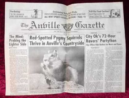 CAT IN THE HAT: ANVILLE NEWSPAPER