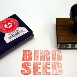 HOW HIGH: Bird Seed Stamp & Pad