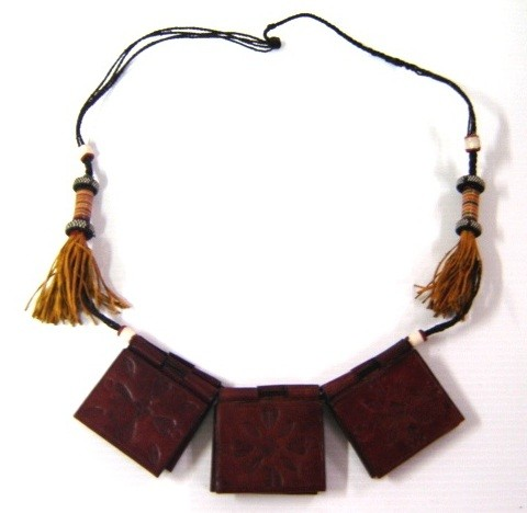 SAHARA: Madiba Tassel Amulet    1