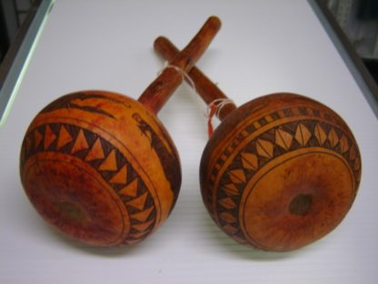 SCORPION KING: Pair Of Maracas