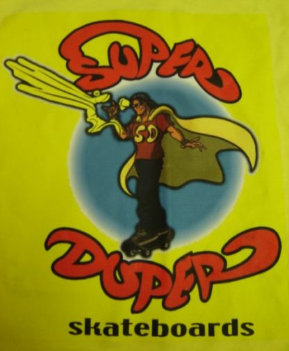 GRIND:  SUPER DUPER SKATEBOARDS T-SHIRT
