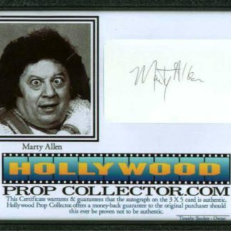 MARTY ALLEN: Framed 1