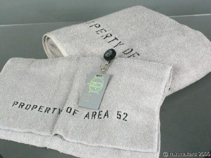 ZOOM: Property Of Area 52 Towels Zenith Program