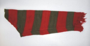 NIGHTMARE ON ELM ST. 5: Freddys Trailer Used Sweater Sleeve