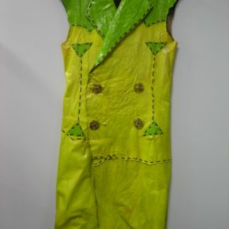 FLINTSTONES VIVA ROCK VEGAS: Yellow & Green Outfit    1