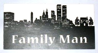 THE FAMILY MAN: Production Personel Car Card 1
