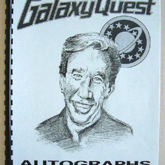 GALAXY QUEST: Prop Autograph Book 1