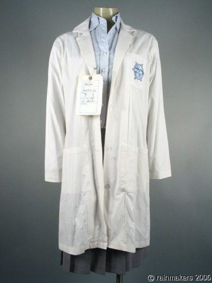 ZOOM: Marsha (Courteney Cox) Labcoat Blouse Skirt